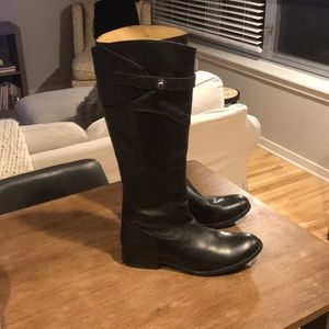 Frye Never Been Worn Black Leather Boots
